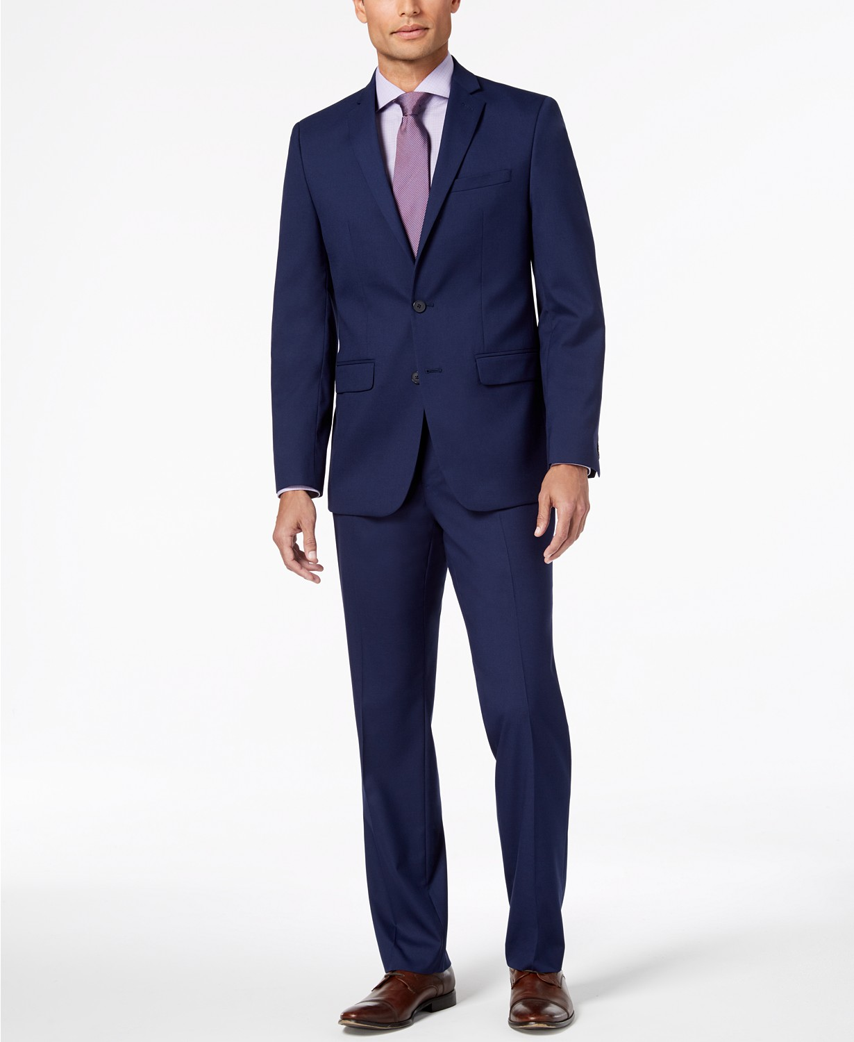 Limited time only! Van Heusen Flex Men's Slim-Fit Suits at Macy's only $89.99! (77% off)