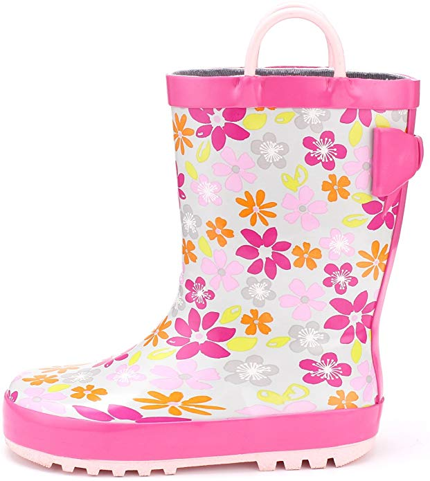 KomForme Kids Rain Boots only $5.99 with coupon!