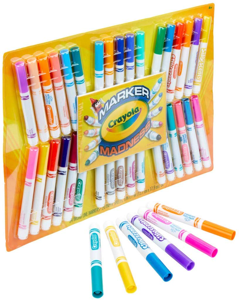 Crayola 34 Marker Madness Kit only $6! (was $14.50)