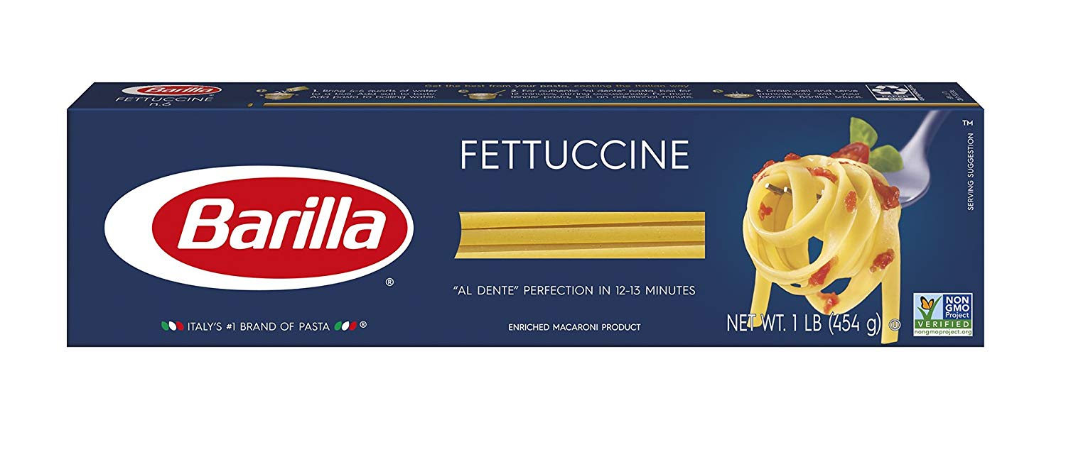 8 Pack Barilla Fettuccine Pasta only $7.92! (was $11)