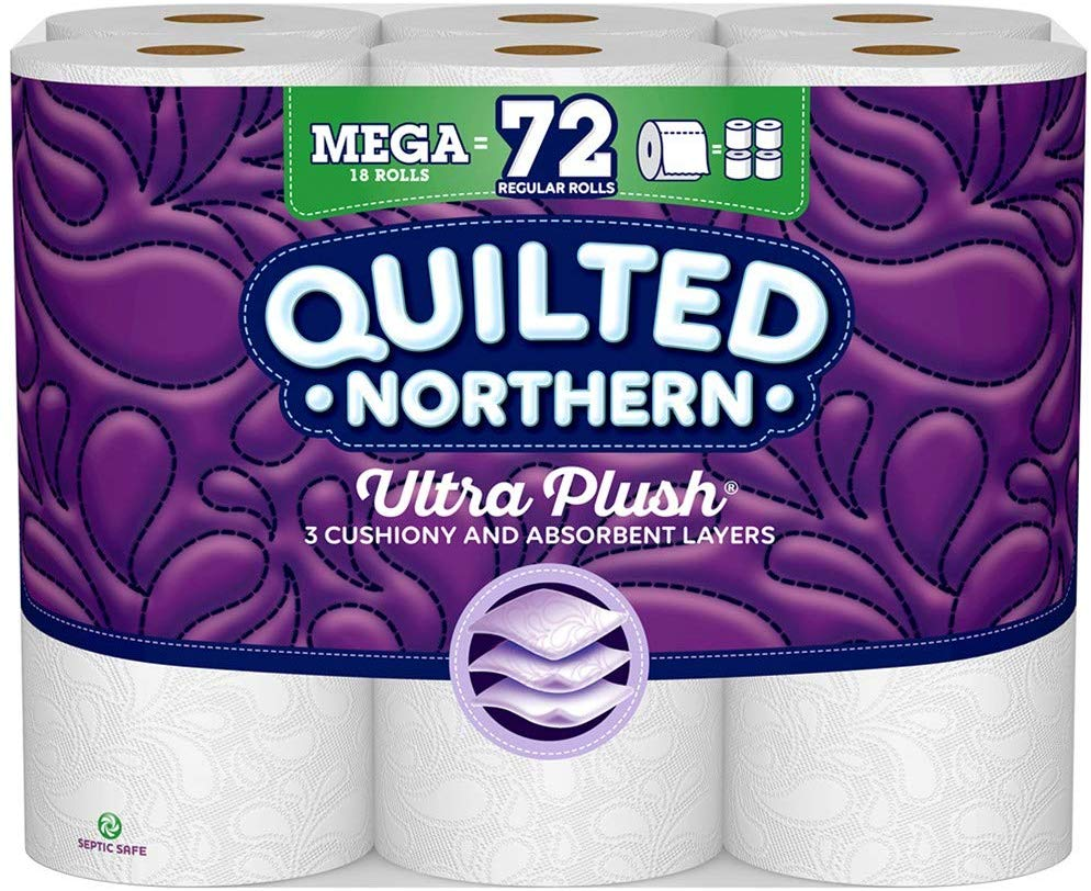 54 Quilted Northern Ultra Plush Toilet Paper Rolls only $34.82! (was $52.44)