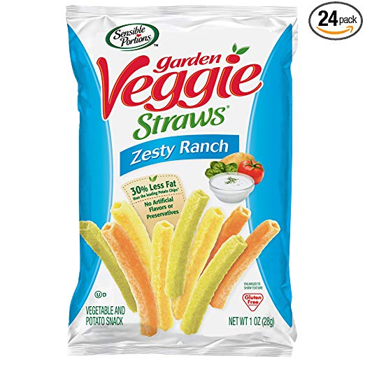 24 Pack Ranch Garden Veggie Straws only $8.53 with coupon!