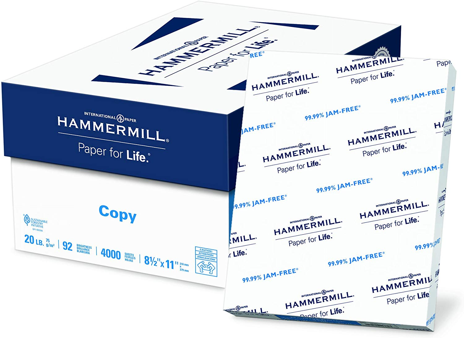 Case of Hammermill Paper / 4,000 Sheets only $23.99! (was $36.99)