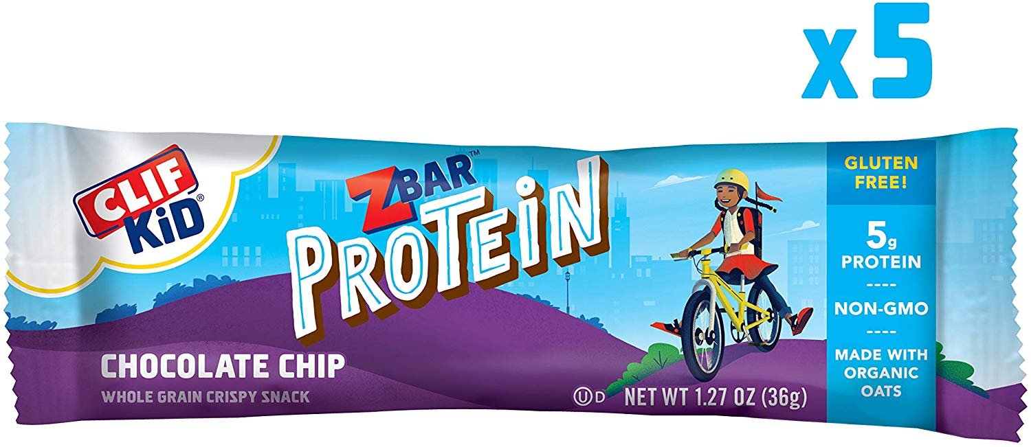 CLIF KID ZBAR – Protein Granola Bars, 5 count only $2.18! (was $5)