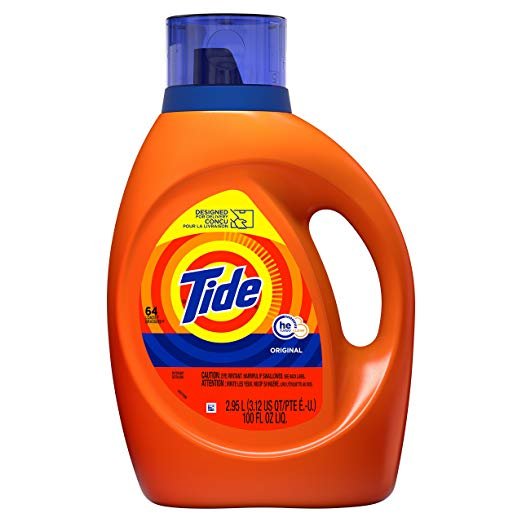 Tide Laundry Detergent Liquid only $9.97 with coupon!
