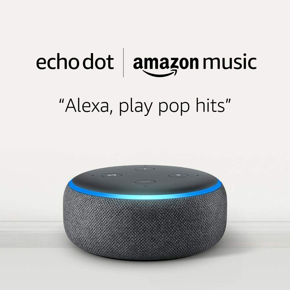 Echo Dot for only $0.99 and 1 month of Amazon Music Unlimited for $7.99 (with Auto-renewal)!