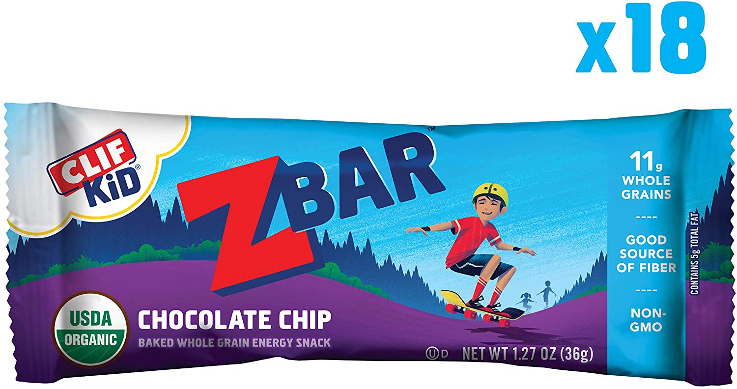 18 pack Clif Kid ZBARs only $7! (was $10.84)