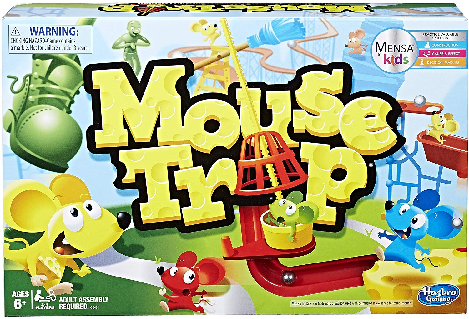 Hasbro Mouse Trap Game only $8.71! (Reg. $21)