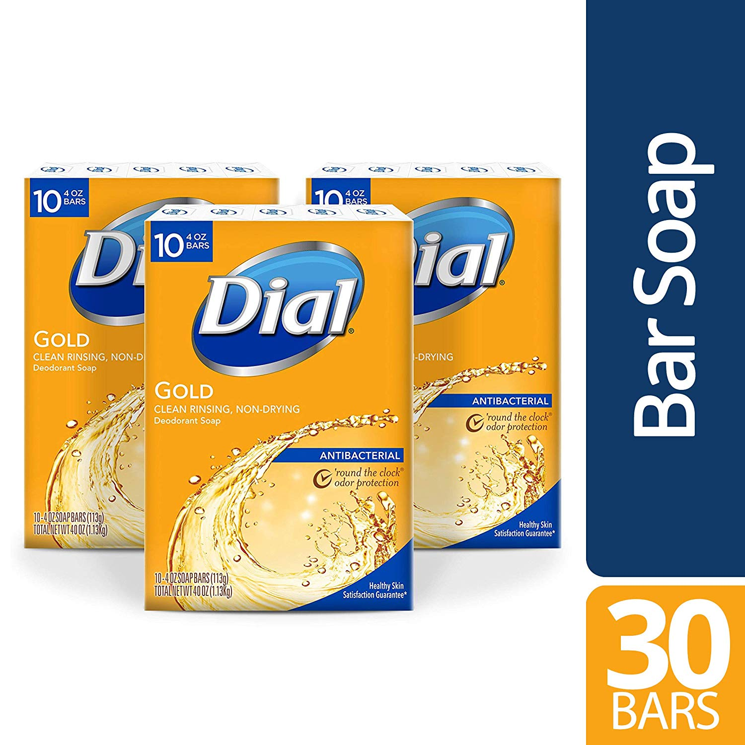 30 Dial Antibacterial Soap Bars only $10.40 with coupon! (was $14.85)