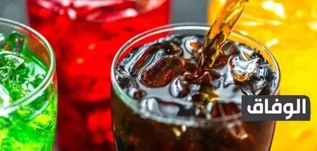 مشروبات باردة غازية