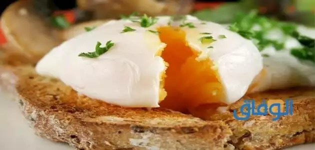 عدد السعرات الحرارية في البيض
