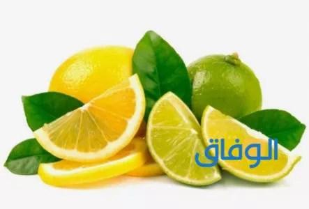 عصير الليمون للقضاء على العرق
