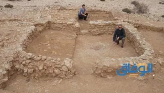 المقابر الفرعونية في التربة الرملية