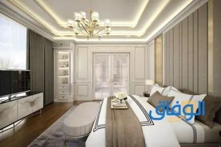 ديكورات جبس اسقف راقية 2021 لغرف النوم3