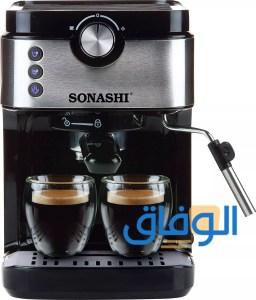 سعر ماكينة القهوة sonashi
