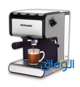 طريقة استخدام آلة القهوة sonashi
