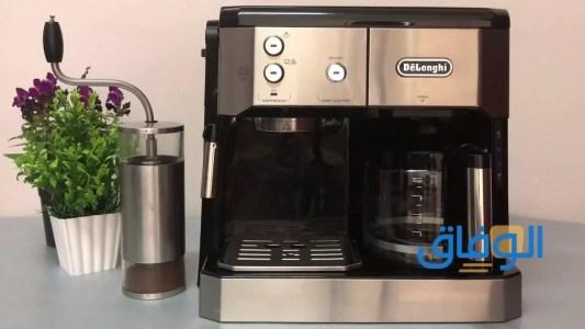 طريقة استخدام ماكينة القهوة الأمريكية.