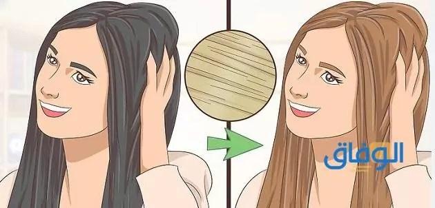 طريقة تلوين الشعر في البيت