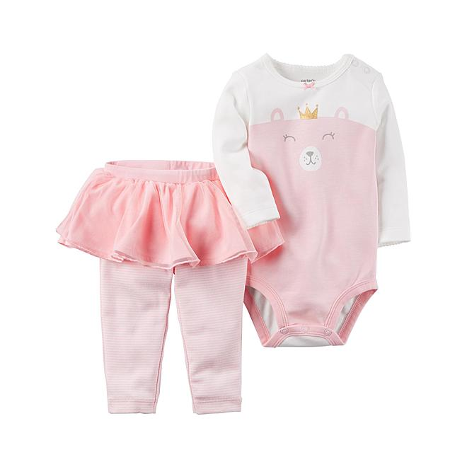8cdb01413 Sears:Carter's Infant Girls' Bodysuit & Tutu Pants $8 (Reg. $20)+ Store  pickup.