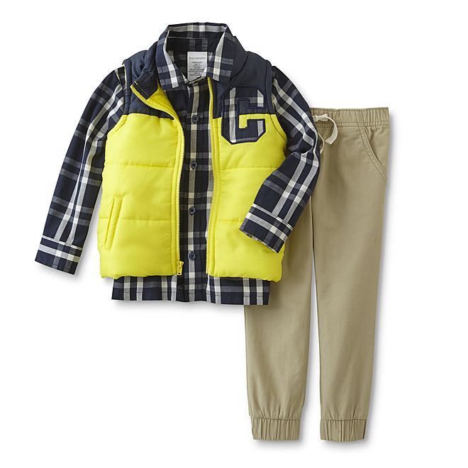 3cb2ac65f Sears Toughskins Toddler   Infant Boys  Puffer Vest  15 (Reg.  40) + ...