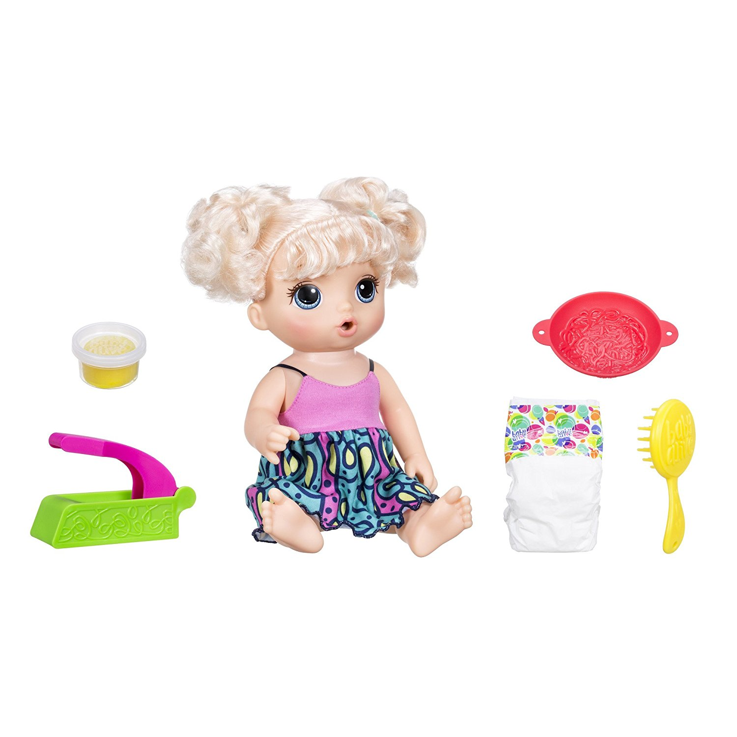 Amazon Baby Alive Super Snacks Snackin Noodles Blonde For 14 40