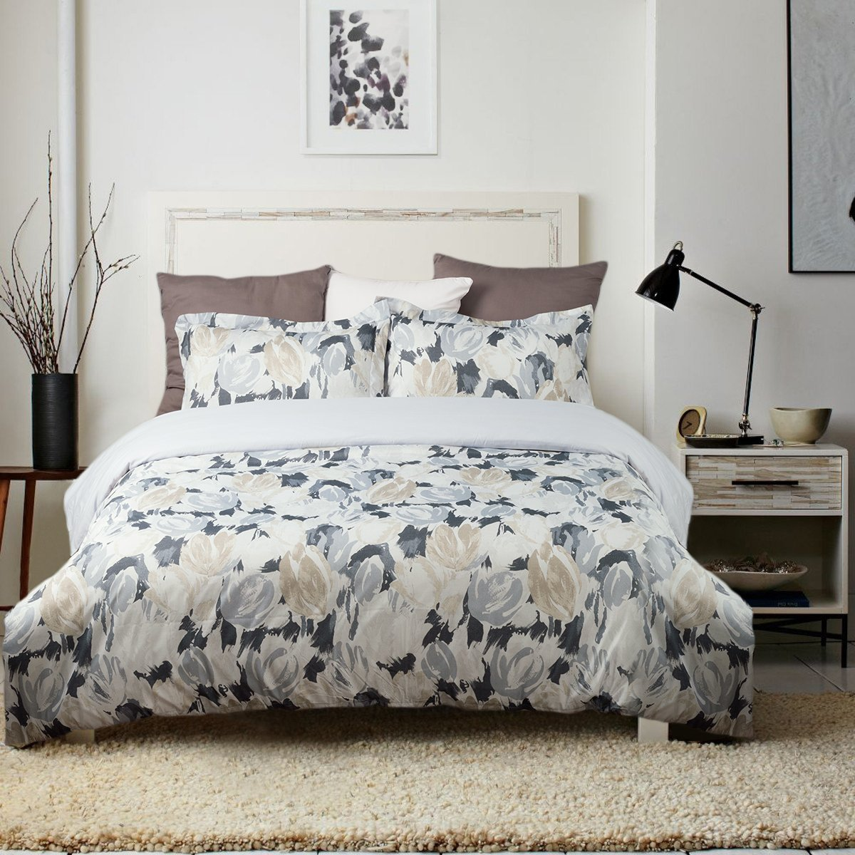 floral com amazon on quilt sets bedding watch available duvet youtube