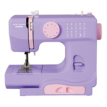 Kmart Janome 40Lady Lady Lilac Portable Sewing Machine Only 4040 Cool Cheap Sewing Machines Kmart
