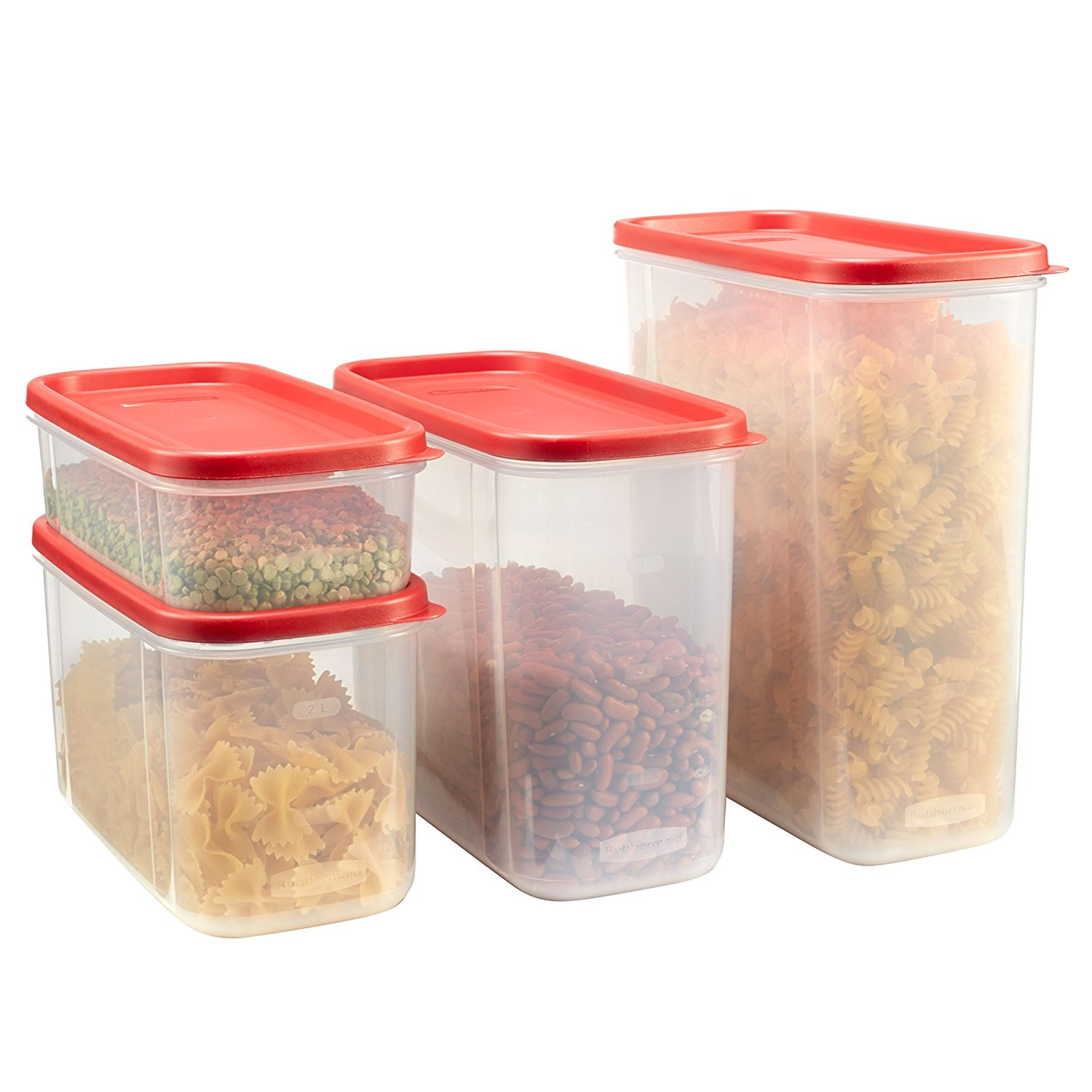 Walmart / Amazon Rubbermaid Modular Canisters Food Storage Container BPA-free 8-piece Set only $16.97 (Was $23)!  sc 1 st  Dealing in Deals! & Walmart / Amazon: Rubbermaid Modular Canisters Food Storage ...