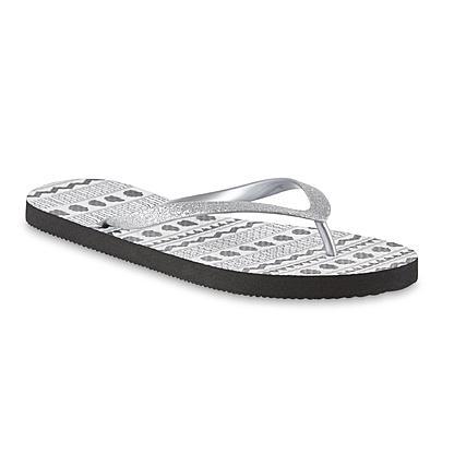 dae89b4c3d2d6 Sears : Simply Styled Women's June Flip Flop Sandal $2.99 (Reg. $10 ...