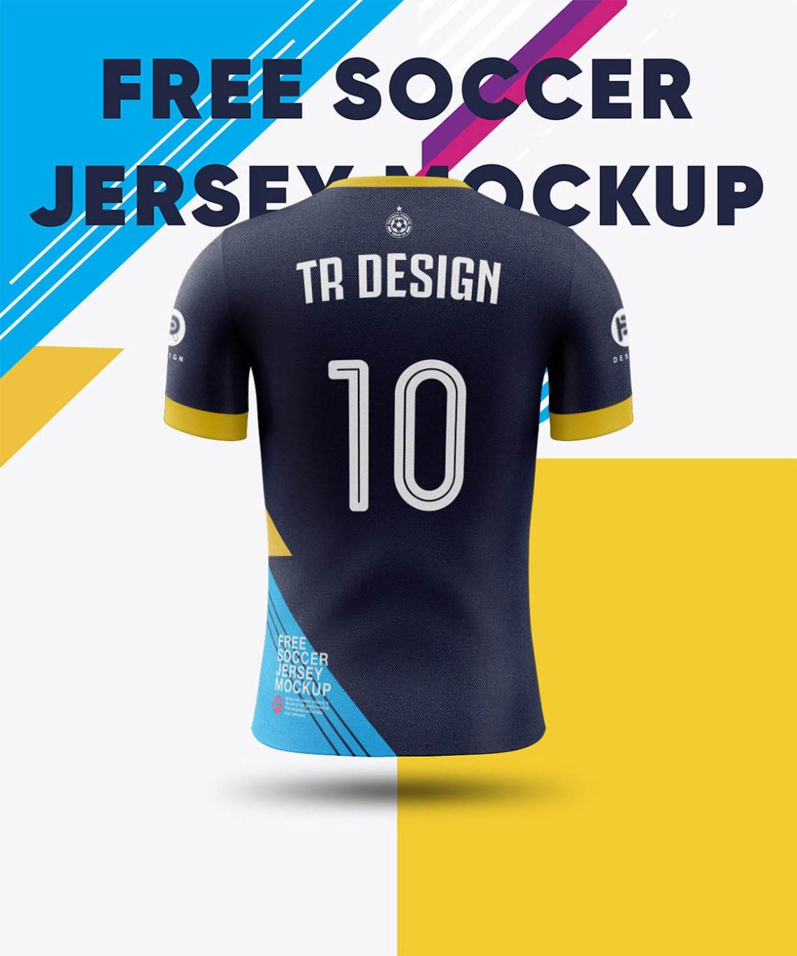 Download Soccer Jersey - Free Mockup - Dealjumbo.com — Discounted ...