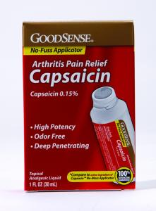Capsaicin Cream can Reduce Pain from Arthritis, Shingles, Neuropathy, Cluster Headache, and Skin Problems