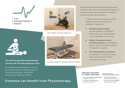 Jebhealth The Clinic Group Medical Partners Physiotherapy