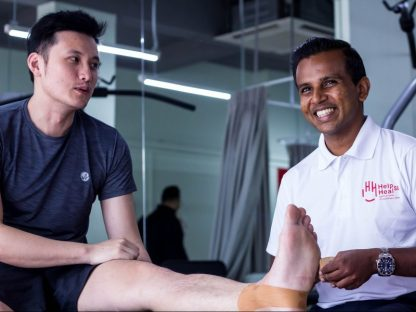 Physiotherapy Sports Massage Taping HelpHeal Jebhealth 2