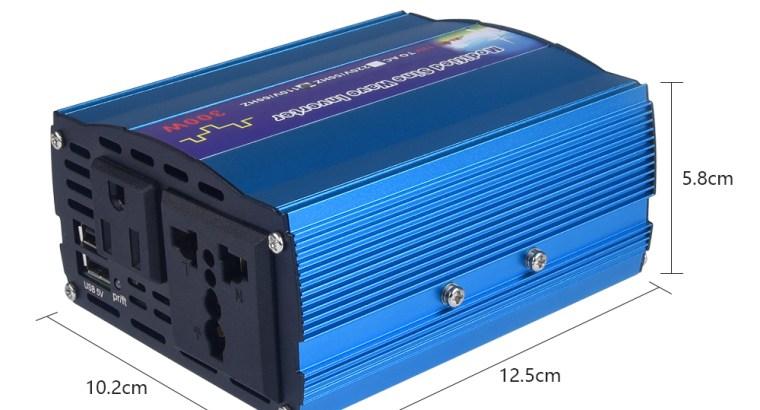Modified Sine Wave 300 Watt Power Inverter 12VDC to 220VAC