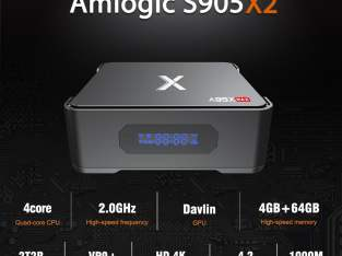 A95X MAX TV Box S905X2 Quad Core WIFI Bluetooth
