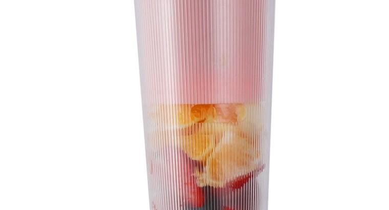 Portable USB electric plastic juicer blender