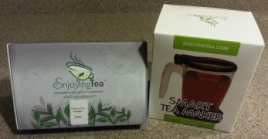 Enjoying Tea Variety Sample and Smart Tea Maker