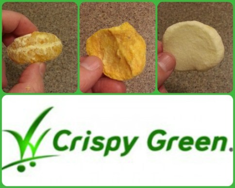 Crispy green fruit