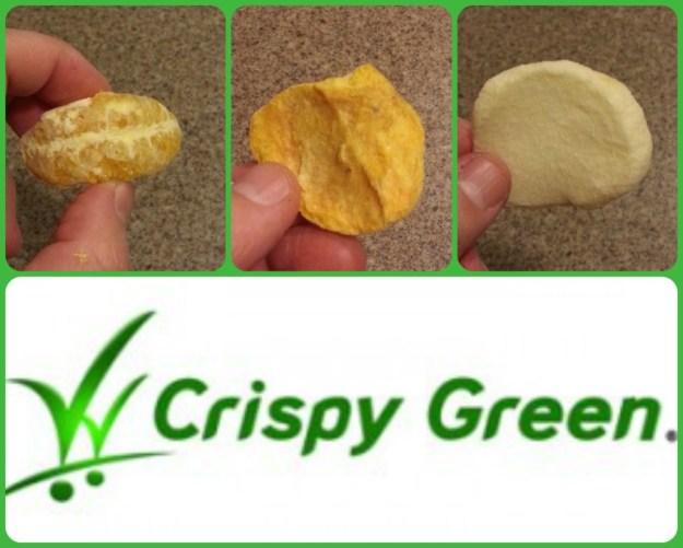 Crispy green fruit
