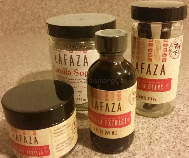 Shot all products LAFAZA Vanilla