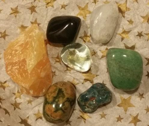 Stones close up