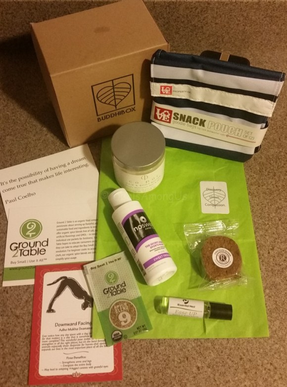 Buddhi Box September Box Contents