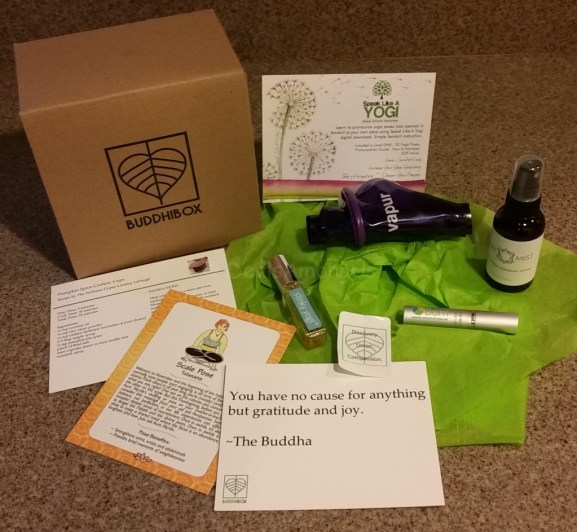 November Buddhi Box