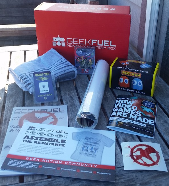 November Geek Fuel Total Box Contents