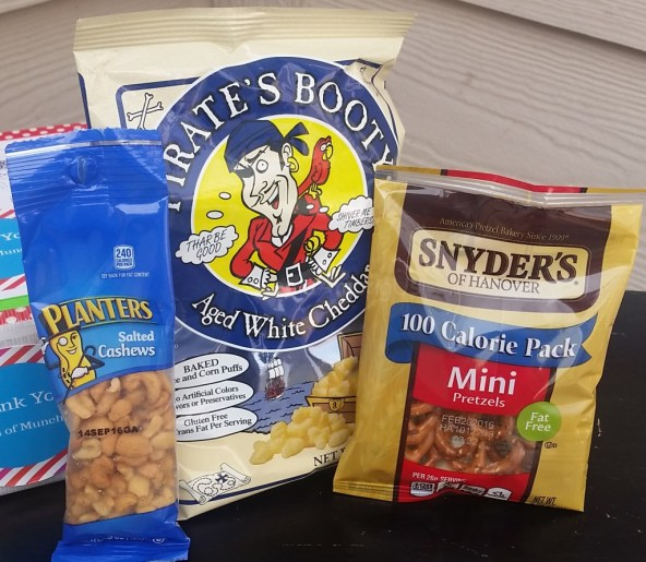 Planters Pirates Booty and Snyders