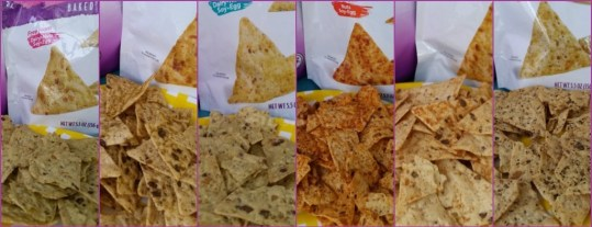6 Baked chips from Miltons