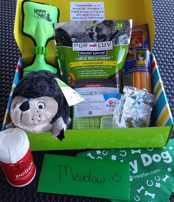 March Pet Treater Box
