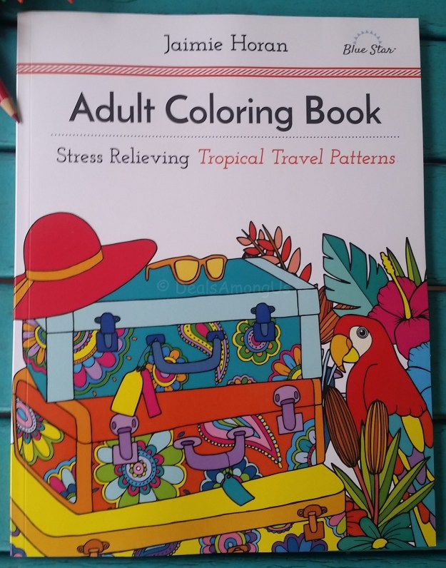 Tropical Coloring Book
