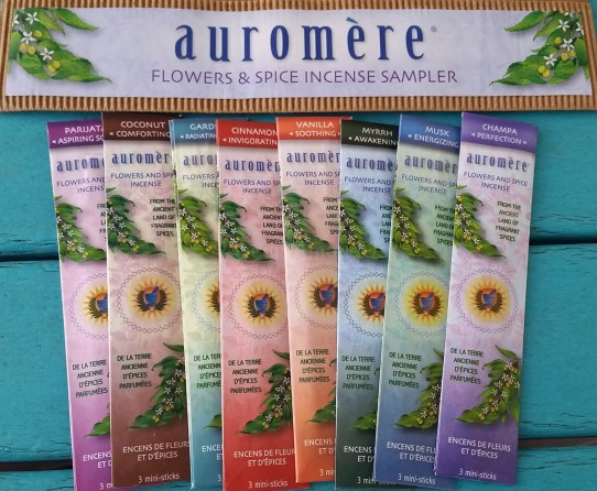 Auromere Incense Sampler pack