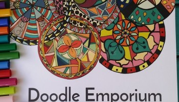 Doodle Emporium Adult Coloring Book Review